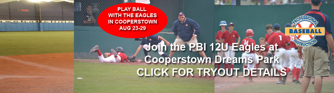 Join PBI's 12U Eagles In Cooperstown This August