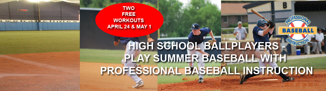 Free High School Workout – Play Ball This Summer