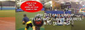 Fall Floating Clinics