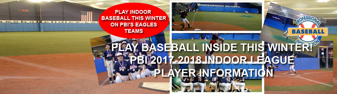 Play Indoor Baseball This Winter At PBI