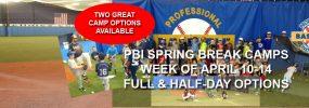 PBI Spring Break Camps
