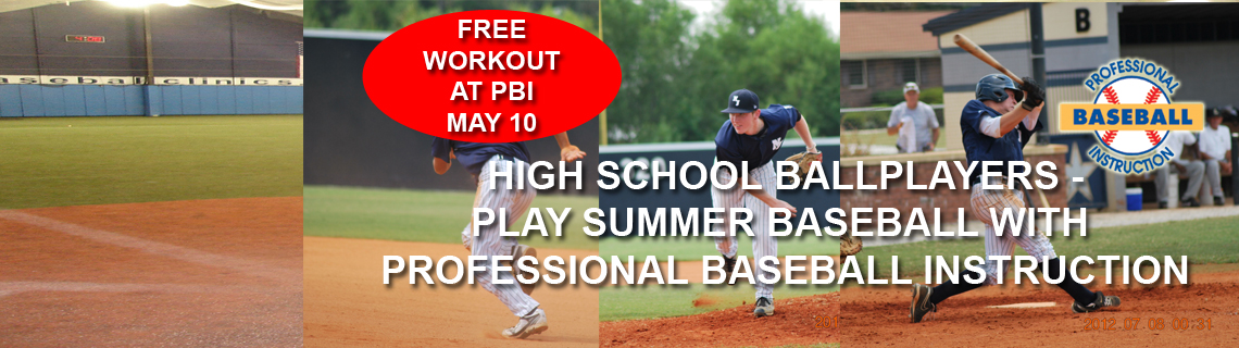 Pbi High School Summer Baseball Teams Professional Instruction