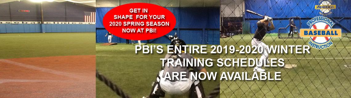 Winter Training Programs At PBI