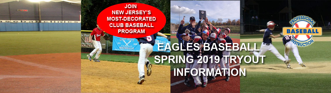 Eagles Spring 2019 Tryout Information