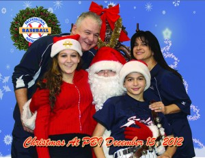 Christmas at PBI family picture