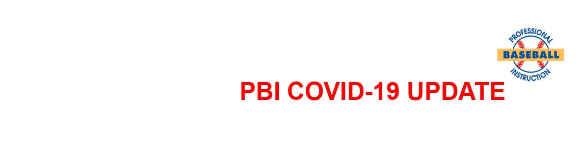 PBI COVID-19 Update