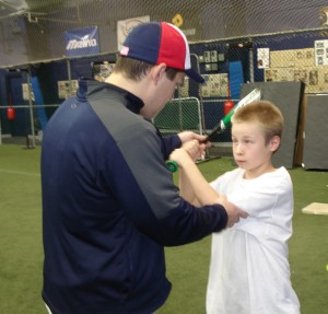 PBI private hitting lesson
