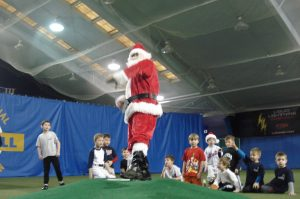 Santa at PBI