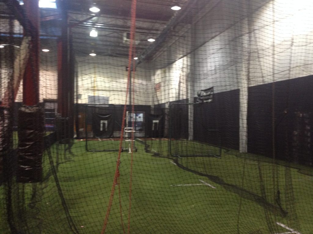 PBI at NJ Sports House batting cages