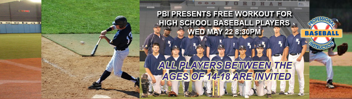 PBI Presents FREE High School Workout Wed 5/22