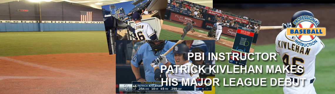 PBI's Patrick Kivlehan Makes Historic MLB Debut