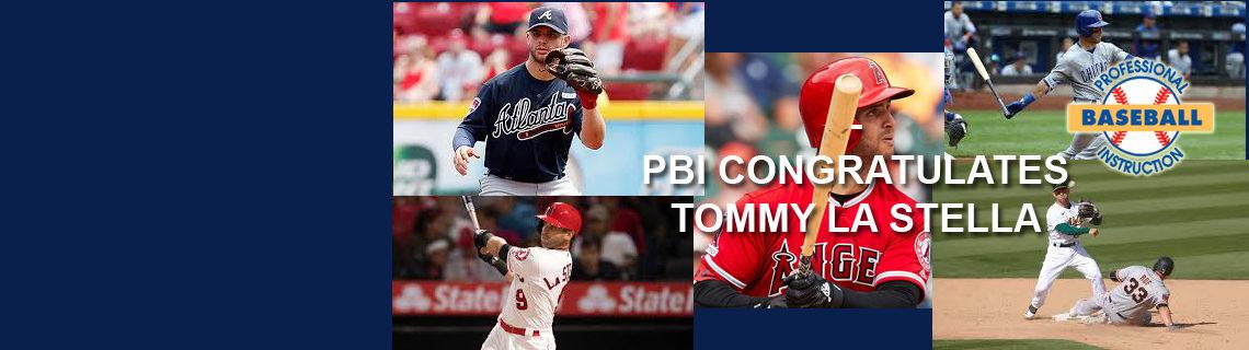 PBI Congratulates Tommy La Stella