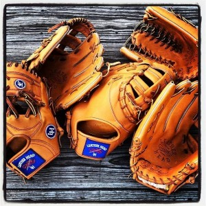 New baseball gloves