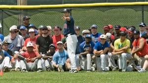 Pro baseball tryout