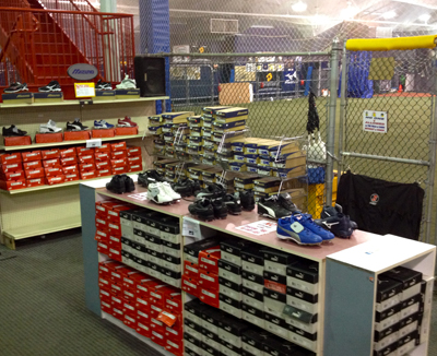 Part of our extensive shoe selection