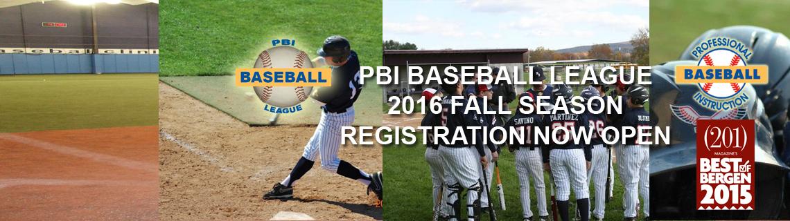 PBI Baseball League Fall Season