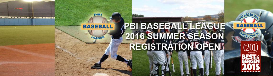 PBI Baseball League Summer Season