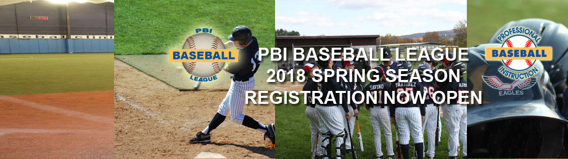 PBI Baseball League Spring Season