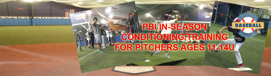 Pitchers' In-Season Phase Training For Ages 11-14U
