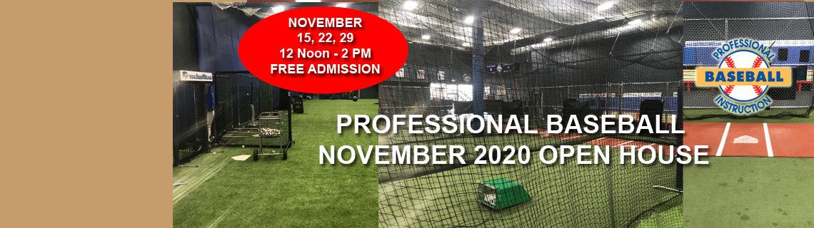November 2020 Open House