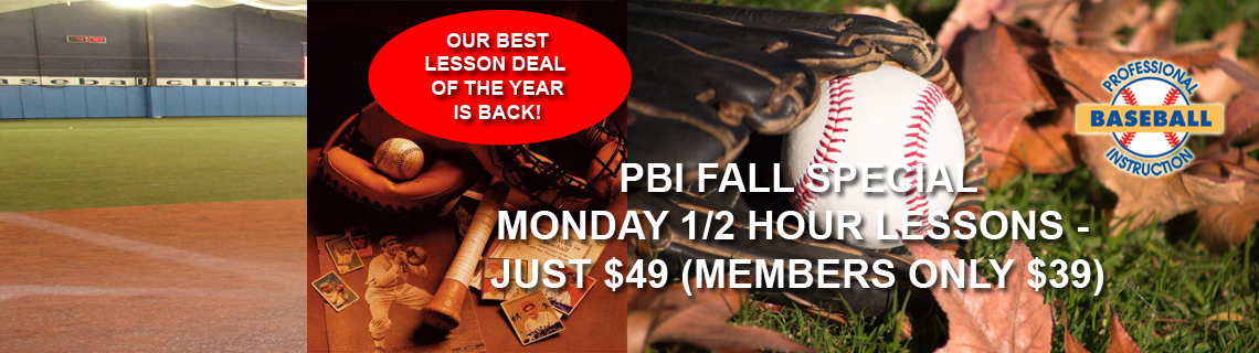 PBI Fall Lesson Special