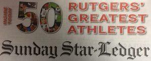 Star Ledger Rutgers Top 50 Athletes