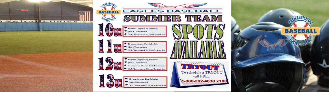 Eagles Travel Team Summer Openings
