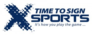 Time To Sign Sports logo