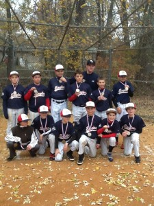 12U Eagles - 2013 fall champs