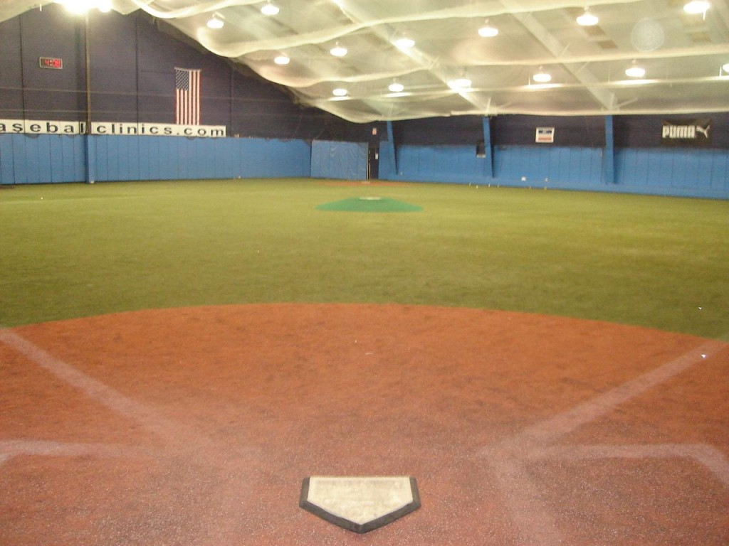 PBI's indoor field