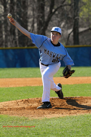 Mahwah pitcher Ryan Remo