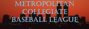 Metropolitan Baseball League logo