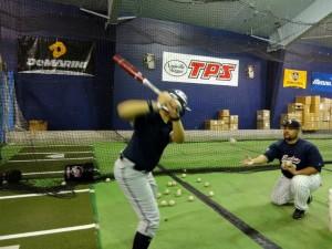 private hitting lesson